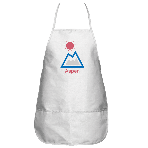 Aspen, Colorado Mountain & Sun - Apron