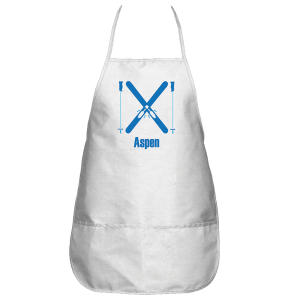 Aspen, Colorado Snow Ski - Apron
