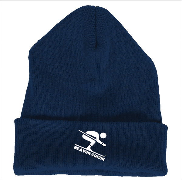 Beaver Creek, Colorado Downhill Snow Skiing - Embroidered Knit Beanie