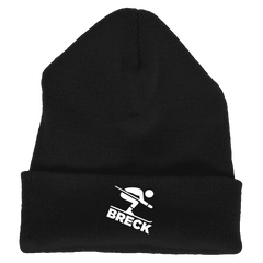 Breck Breckenridge, Colorado Downhill Snow Skiing - Embroidered Knit Beanie