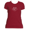 Aspen, Colorado Bicycle - Women's Moisture Wicking T-Shirt