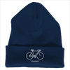 Aspen, Colorado Bicycle - Embroidered Knit Beanie