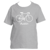 Austin, Texas Bike - Youth/Kid's T-Shirt