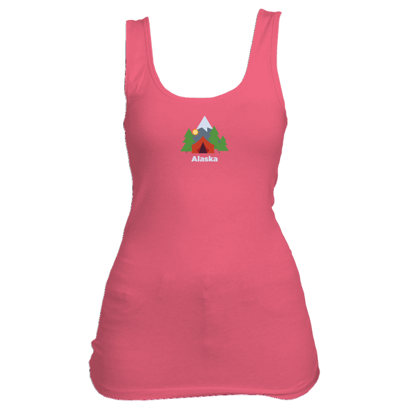 Alaska Mountain Camping - Women's Tank Top