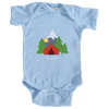 Aspen, Colorado Mountain Camping - Infant Onesie/Bodysuit