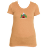 Breckenridge, Colorado Mountain Camping - Women's Tri-Blend T-Shirt