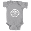 Alta, Utah Circle Three Peak - Infant Onesie/Bodysuit