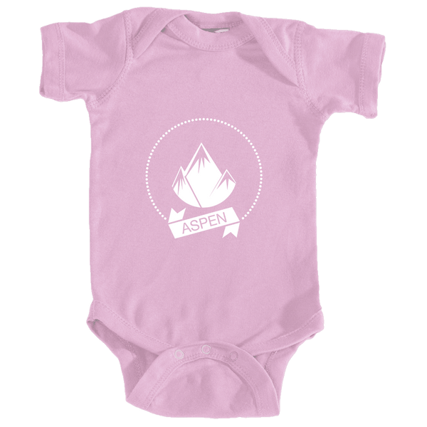 Aspen, Colorado Circle Three Peak Alt Version - Infant Onesie/Bodysuit