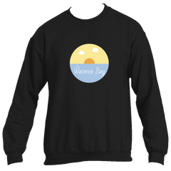Waimea Bay Ocean Sunset - Hawaii Men's Fleece Crew Sweatshirt