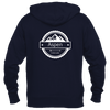 Aspen, Colorado Circle Three Peak - Women's Full-Zip Hooded Sweatshirt/Hoodie