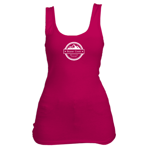 Beaver Creek, Colorado Circle Three Peak - Women's Tank Top