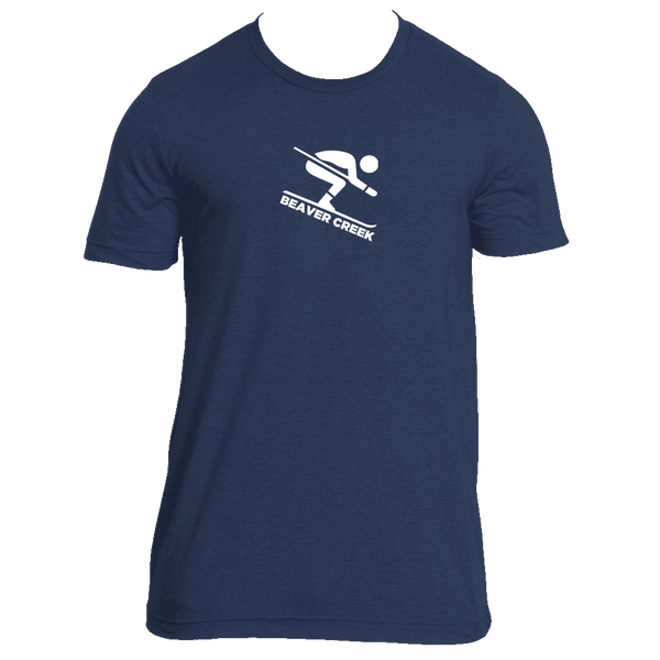 Beaver Creek, Colorado Downhill Snow Skiing - Men's T-Shirt
