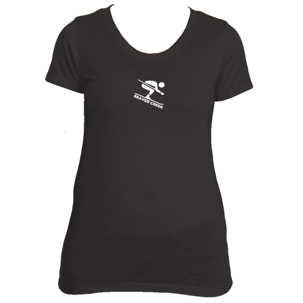 Beaver Creek, Colorado Downhill Snow Skiing - Women's Tri-Blend T-Shirt
