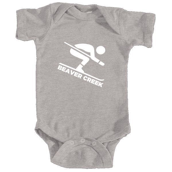 Beaver Creek, Colorado Downhill Snow Skiing - Infant Onesie/Bodysuit