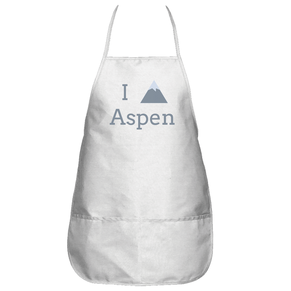 Aspen, Colorado I Heart/Love Mountain - Apron
