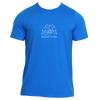 Beaver Creek, Colorado Hand Drawn Mountain Setting - Men's Moisture Wicking T-Shirt