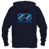 Breckenridge, Colorado Snowboard & Snow Ski Goggles - Men's Full-Zip Hooded Sweatshirt/Hoodie