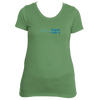 Aspen, Colorado Mountain Pulse Altitude - Women's Tri-Blend T-Shirt