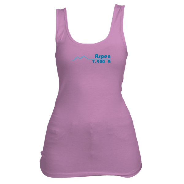 Aspen, Colorado Mountain Pulse Altitude - Women's Tank Top