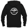 Alta, Utah Circle Three Peak - Men's Full-Zip Hooded Sweatshirt/Hoodie