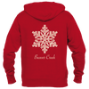 Beaver Creek, Colorado Snowflake - Women's Full-Zip Hooded Sweatshirt/Hoodie