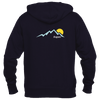 Aspen, Colorado Mountain Sunset - Men's Full-Zip Hooded Sweatshirt/Hoodie