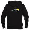 Boulder, Colorado Mountain Sunset - Women's Full-Zip Hooded Sweatshirt/Hoodie