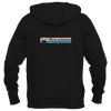 Aspen, Colorado Retro Mountain - Men's Full-Zip Hooded Sweatshirt/Hoodie