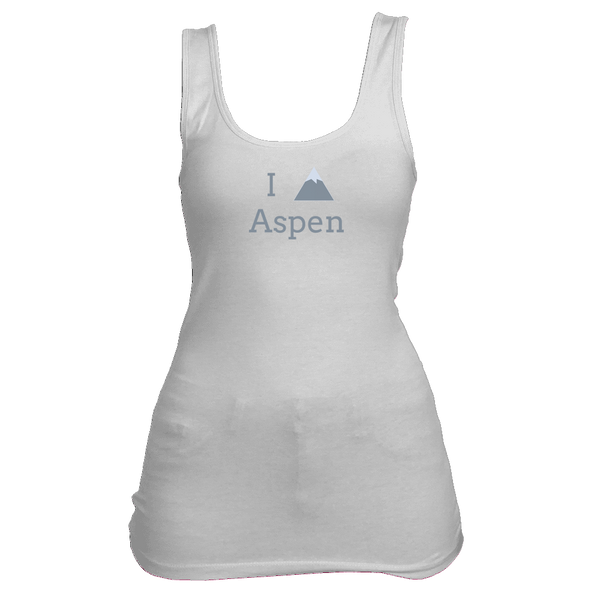 Aspen, Colorado I Heart/Love Mountain - Women's Tank Top