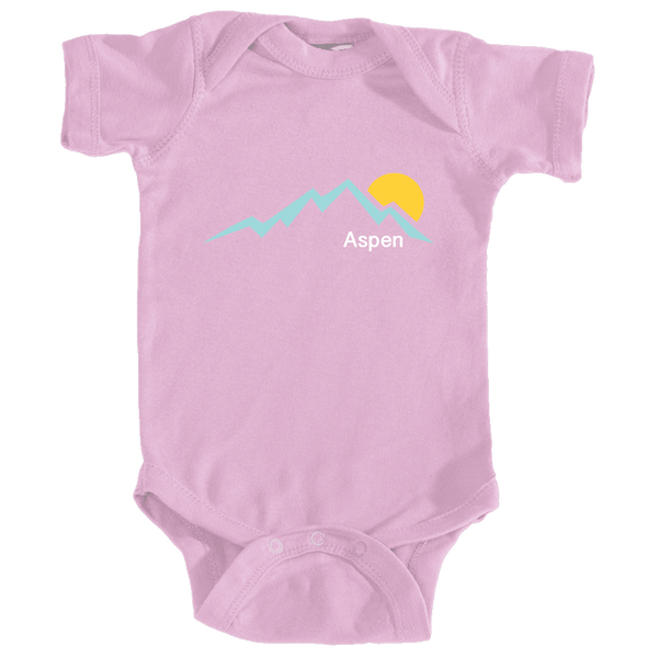 Aspen, Colorado Mountain Sunset - Infant Onesie/Bodysuit