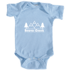 Beaver Creek, Colorado Mountain & Trees - Infant Onesie/Bodysuit