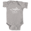 Aspen, Colorado Vintage Mountain Drawing - Infant Onesie/Bodysuit