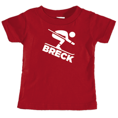 Breck Breckenridge, Colorado Downhill Snow Skiing - Infant T-Shirt