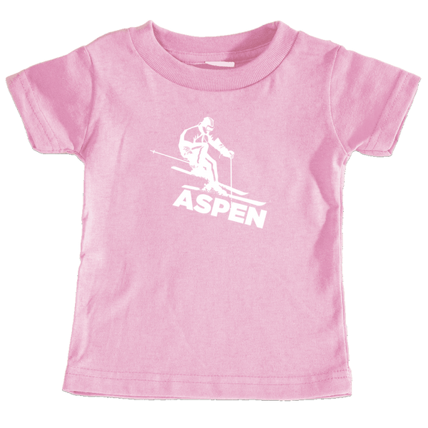 Aspen, Colorado Snow Skiing - Infant T-Shirt