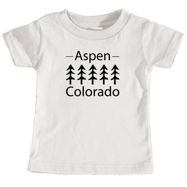 Aspen, Colorado Trees - Infant T-Shirt