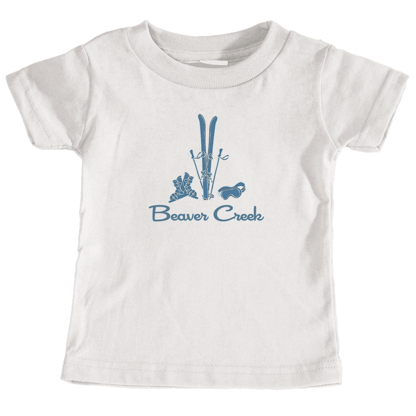 Beaver Creek, Colorado Vintage Snow Ski - Infant T-Shirt
