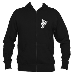 Telluride, Colorado Snowboarding - Men's Full-Zip Hooded Sweatshirt/Hoodie