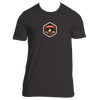 Aspen, Colorado Mountain Badge - Men's T-Shirt