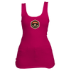 Aspen, Colorado Mountain Badge - Women's Tank Top