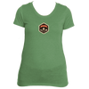Beaver Creek, Colorado Mountain Badge - Women's Tri-Blend T-Shirt