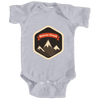 Beaver Creek, Colorado Mountain Badge - Infant Onesie/Bodysuit