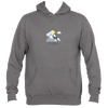 Aspen, Colorado Mountains and Clouds in Color - Men's Hooded Sweatshirt/Hoodie