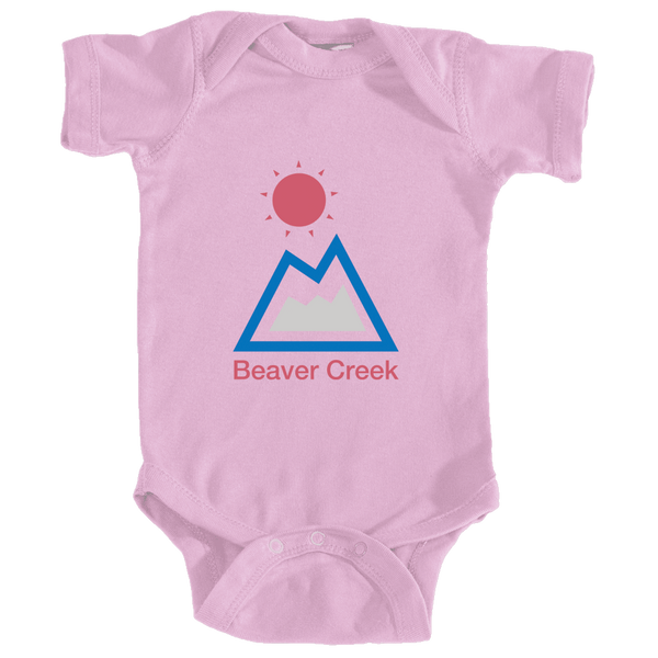 Beaver Creek, Colorado Mountain & Sun - Infant Onesie/Bodysuit