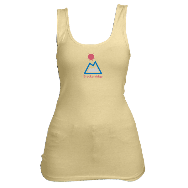 Breckenridge, Colorado Mountain & Sun - Women's Tank Top
