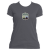 Beaver Creek, Colorado Mountain & Trees Badge - Women's Moisture Wicking T-Shirt