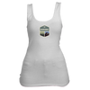 Beaver Creek, Colorado Mountain & Trees Badge - Women's Tank Top