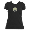 Aspen, Colorado Mountaineering Badge - Women's Moisture Wicking T-Shirt