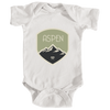 Aspen, Colorado Mountaineering Badge - Infant Onesie/Bodysuit
