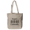 Aspen, Colorado Trees - Organic Tote Bag