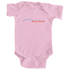Beaver Creek, Colorado Retro Mountain - Infant Onesie/Bodysuit